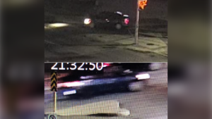 Police are looking for this suspect vehicle involved in a shooting in Mississauga in August. (Handout)