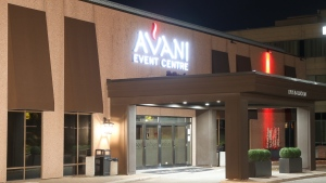 Avani Event Centre is seen in this undated photo. (CTV News/Tom Podolec)