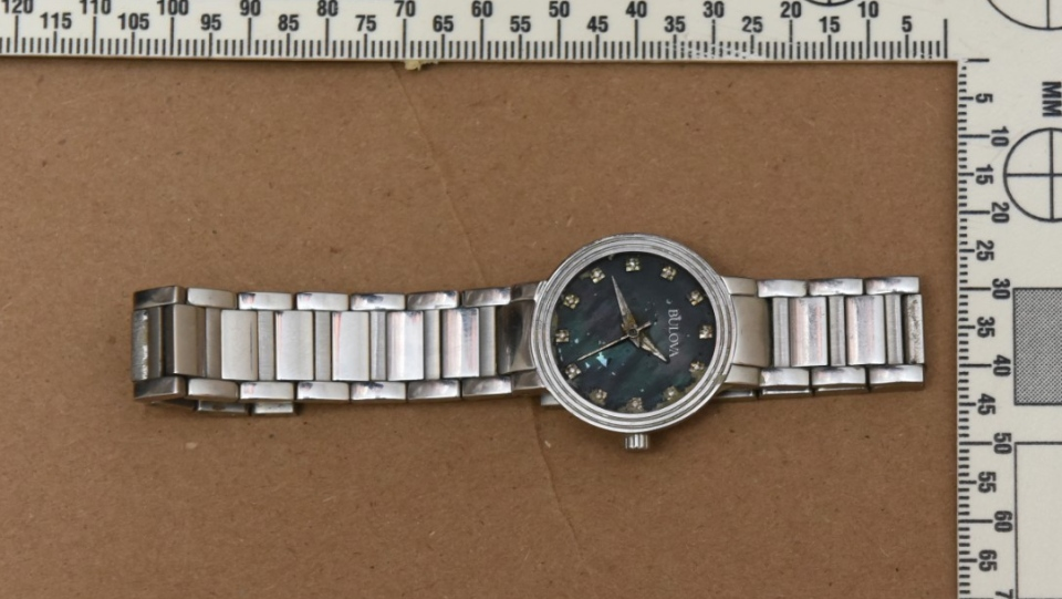 York Regional Police have released this image of a watch in an effort to identify a woman found dead in Lake Simcoe in August.
