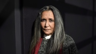 "Director Deepa Mehta poses for a photo at TIFF Bell Lightbox Cinema after the screening of her new film ""Anatomy of Violence"" in Toronto, Thursday, November 17, 2016. THE CANADIAN PRESS/Marta Iwanek"