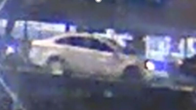 Police are looking for this silver sedan after shots were fired in North York in September. (Handout)