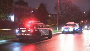 Police are investigating after a man was found seriously hurt in Etobicoke.
