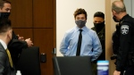 Kyle Rittenhouse appears for an extradition hearing in Lake County court Friday, Oct. 30, 2020, in Waukegan, Ill. Rittenhouse is accused of killing two protesters days after Jacob Blake was shot by police in Kenosha, Wis. (AP Photo/Nam Y. Huh, Pool)
