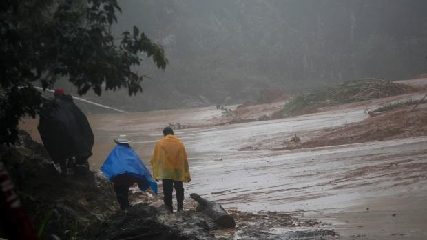 Eta aims torrential rain at South Florida