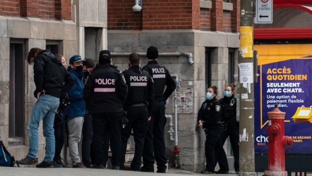 Major police operation underway in Montreal's Mile End neighbourhood    CP24.com