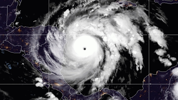 Hurricane Iota closing in on storm-battered Central America
