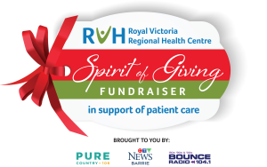 Join the RVH Spirit of Giving Streamathon on Nov. 26, 2020.