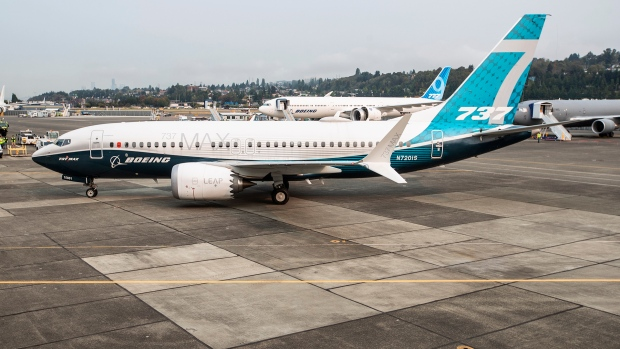 FAA chief Stephen Dickson brings a Boeing 737 MAX to a stop at Boeing Field in Seattle, after concluding a test flight on Wednesday, Sept. 30, 2020. Dickson, who previously flew for Delta Air Lines, piloted the plane on a planned two-hour test flight, one of the final steps before he grants approval for the MAX to fly passengers again. The MAX has been grounded since March 2019, after the second of two deadly crashes that killed 346 people. (Mike Siegel/The Seattle Times via AP, Pool)