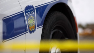 A Peel Regional Police cruiser is seen. THE CANADIAN PRESS/Cole Burston