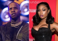 This combination photo shows Tory Lanez performing at HOT 97 Summer Jam 2019 in East Rutherford, N.J. on June 2, 2019, left, and Megan Thee Stallion attending the 5th annual Diamond Ball benefit gala in New York on Sept. 12, 2019. Rapper Tory Lanez pleaded not guilty through his attorney Wednesday to felony assault charges in the July shooting of hip-hop star Megan Thee Stallion. (Photos by Scott Roth, left, Charles Sykes/Invision/AP)