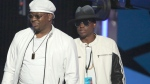 Bobby Brown, left, and Bobby Brown Jr. appear at the BET Awards in Los Angeles on June 26, 2016. (Photo by Matt Sayles/Invision/AP, File)