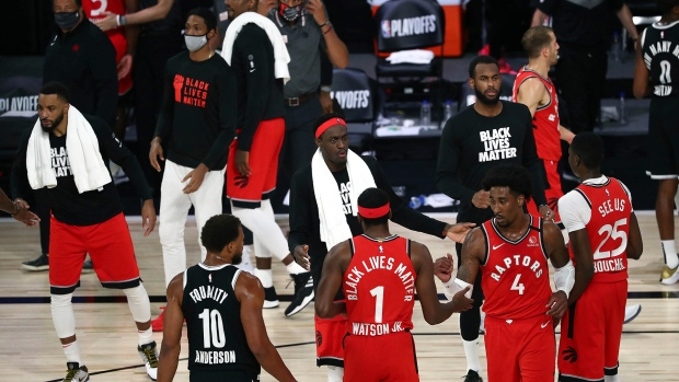 Raptors will play National Basketball Association  home games in Tampa, not Toronto
