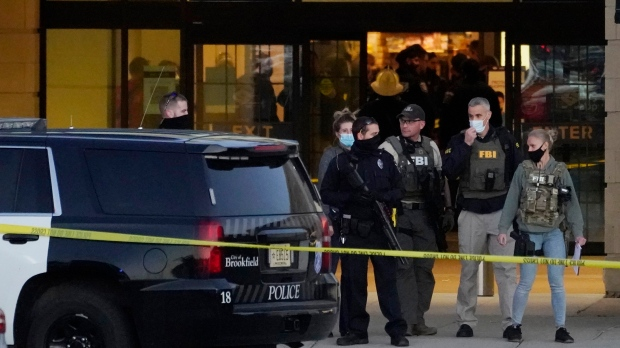 Wisconsin shooting: 'Multiple people injured' in mass shooting at shopping centre