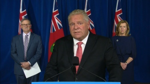 "During the province's COVID-19 briefing, Premier Doug Ford told the auditor general of the legislature that she should ""stick with the number crunching"" after a scathing report about the province's COVID-19 pandemic response."