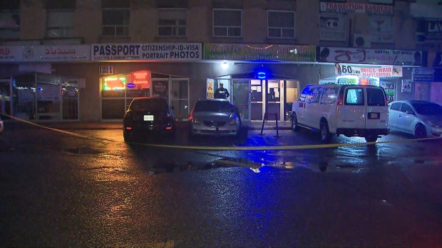 Peel police are investigating a triple in Mississauga.