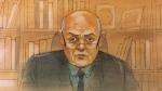 Dr. John Bradford is seen during his testimony on Nov. 26, 2020. (John Mantha)