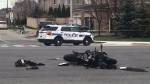 Toronto police are investigating a fatal collision in Mississauga. (CP24/Tristan Phillips)