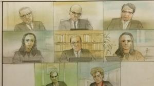 van attack, trial