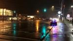 Emergency crews attend the scene of a pedestrian struck in Richmond Hill on Nov. 30, 2020. (Sean MacInnes/CTV News Toronto)