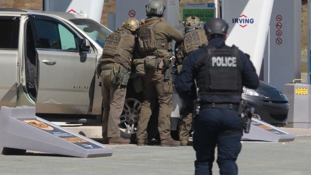 Nova Scotia mass shooting