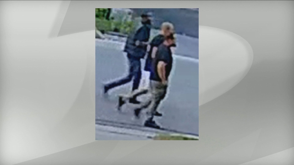 "Peel Regional Police are searching for three ""persons of interest"" wanted in connection with a triple shooting at a cemetery in Brampton in August. (Peel Regional Police handout)"