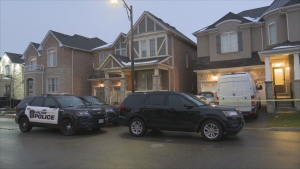 Police are investigating the deaths of two people in Milton.