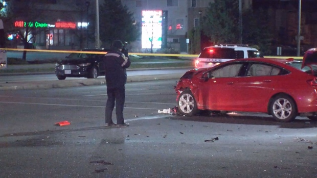 Mississauga crash