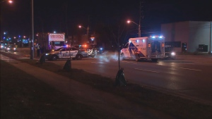 Toronto police are investigating after a pedestrian was struck and killed by a vehicle in Scarborough.