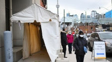 Toronto, COVID vaccine