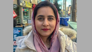 Internationally prominent Pakistani activist Karima Mehrab is seen in this recent photograph taken in Toronto. City police said on Tuesday, Dec. 22, 2020, they were treating her death as not suspicious after her body was pulled from the water a day earlier. THE CANADIAN PRESS/HO