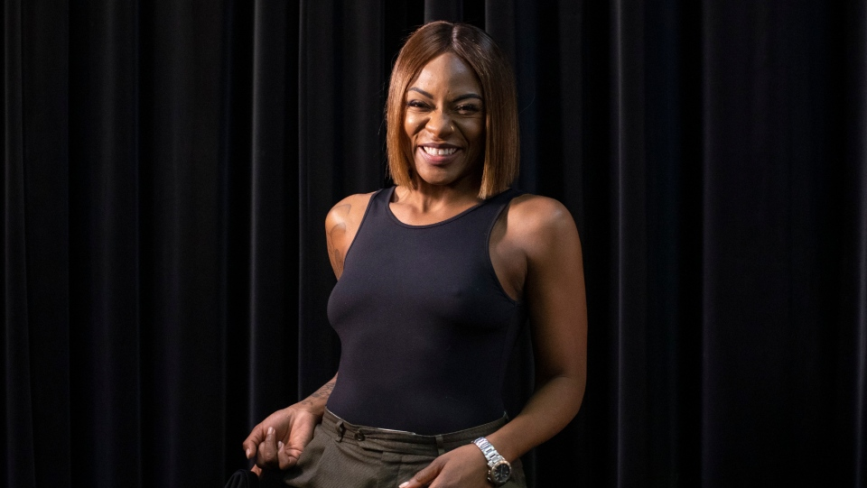 Jully Black is photographed in Toronto on Friday January 17, 2020. THE CANADIAN PRESS/Chris Young