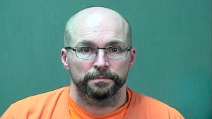 "In this booking photo provided by the Ozaukee County Sheriff's Office Monday, Jan. 4, 2021 in Port Washington, Wis. Steven Brandenburg is shown. The Wisconsin pharmacist, accused of intentionally spoiling hundreds of doses of coronavirus vaccine, convinced the world was ""crashing down"" told police he tried to ruin hundreds of doses of coronavirus vaccine because he felt the shots would mutate people's DNA, according to court documents released Monday. (Ozaukee County Sheriff via AP)"