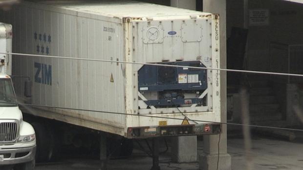 LHSC refrigerated trailer