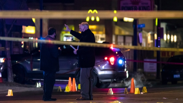Three dead, four wounded after shooting rampage overnight in Chicago