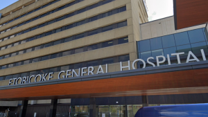 Etobicoke General Hospital is seen in this Google Streetview screenshot. (Photo: Google Streetview)