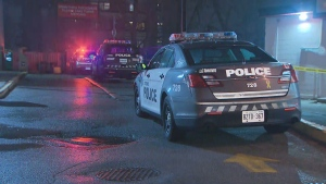 Toronto police are investigating a shooting in the area of Midland and Eglinton on Jan. 14, 2021.