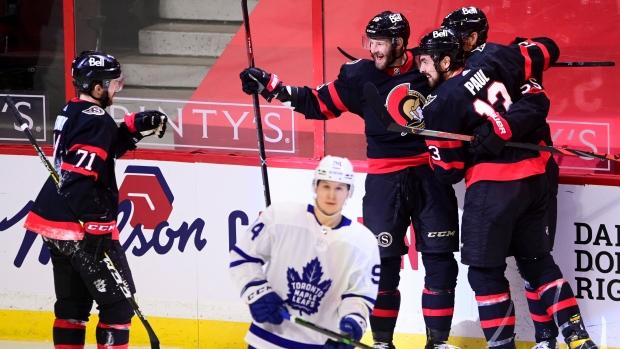 Senators v Leafs