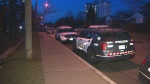 A man has serious injuries following a stabbing in the city's east end early Saturday morning.