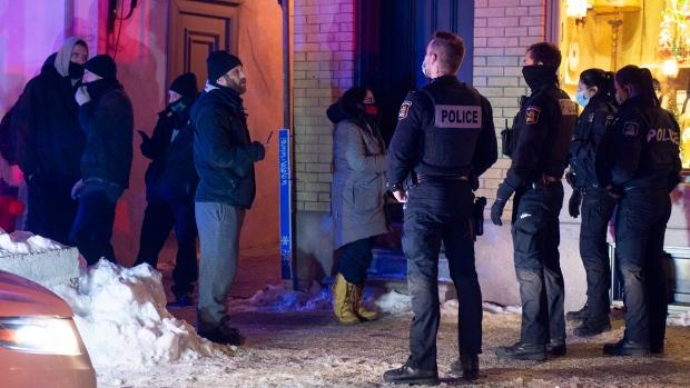 Canada curfew
