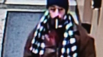 Police have released this photo of a suspect who allegedly tired to force his way into an apartment in Parkdale. (Toronto Police Service handout)