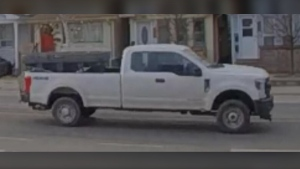 Toronto police have released this image of a vehicle of interest after a hit-and-run in East York that left a man with serious injuries. (TPS handout)
