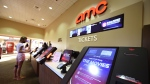 A guest buys tickets on Sep 4, 2020, at the AMC Wayne 14 movie theater in New Jersey, which reopened as Covid-19 restrictions continue to ease. (Andrew H Walker/Shutterstock via CNN)