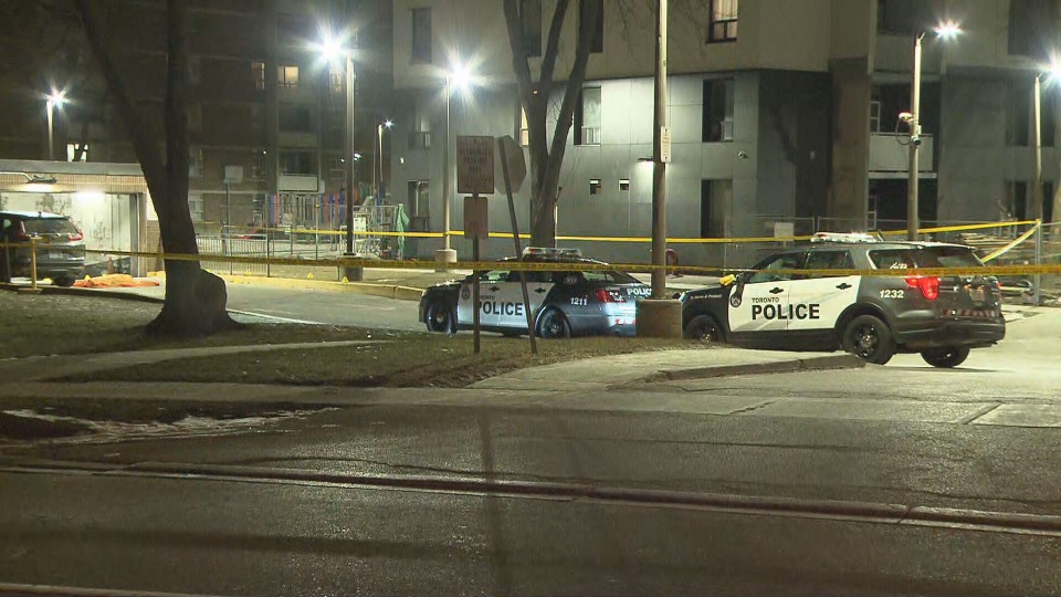 Police are investigating a fatal shooting in the area of Jane Street and Falstaff Avenue.
