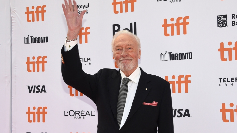 """Christopher Plummer attends the premiere for """"Knives Out"""" on day three of the Toronto International Film Festival on Sept. 7, 2019, in Toronto. (Photo by Evan Agostini/Invision/AP, File)"""
