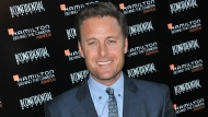 "FILE - This Oct. 28, 2012 file photo shows Chris Harrison at the Hamilton ""Behind the Camera"" Awards at the House of Blues West Hollywood, Calif. Chris Harrison, host of ""The Bachelor,"" says he is stepping down from his TV role and is ""ashamed"" for his handling of a swirling racial controversy at the ABC dating show. (Photo by Richard Shotwell/Invision/AP, File)"