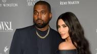 Kanye West, left, and Kim Kardashian attend the WSJ. Magazine Innovator Awards on Nov. 6, 2019, in New York. (Photo by Evan Agostini/Invision/AP, File)