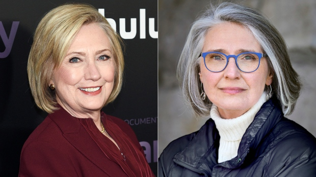 Hilary Clinton and Louise Penny
