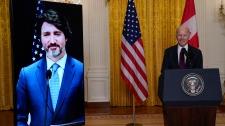 Biden Trudeau summit