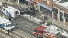 Toronto crash