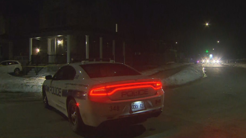 A male is in hospital with critical injuries following a shooting in Brampton early Thursday morning.